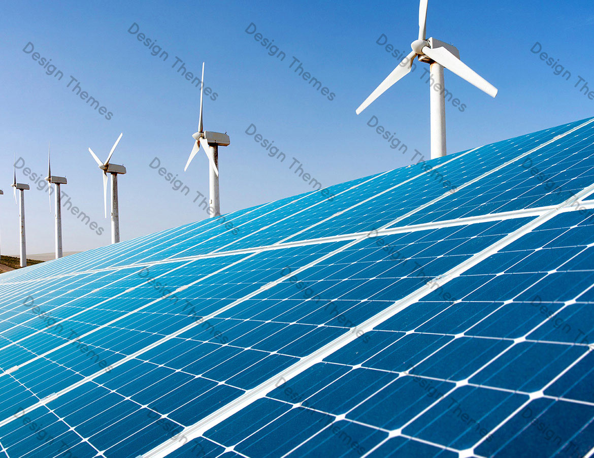 SOLAR PANELS WITH WIND MILLS